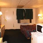 Stockmans Motel - One King Bed Non-Smoking Rm Interior - Ontario, Oregon