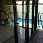 Deck, Living Room, Plunge Pool