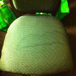 chair from the room