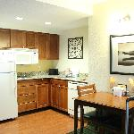 Kitchen area of room 229