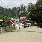 Main street, Dominical