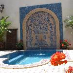 Riad Arabia's dipping pool