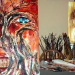 Studio of Contemporary Artist Grady Zeeman inside Kunstehuijs Fine Art Gallery