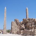Tempio di Karnak - obelischi