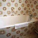 Bathtub, stopper was broken