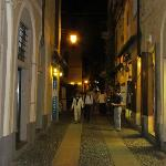 streets of Orta by night