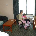 The rooms are spacious and comfortable