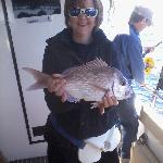 Me, with my catch