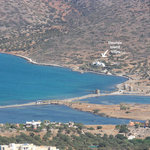 View of the 'Elounda Island Villas' on the Island