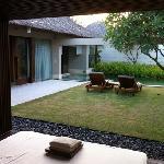 deluxe pool villa vom Tagesbett