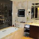 Luxurious bath..