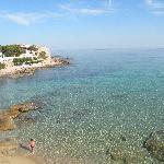 vista spiaggia dal terrazzo