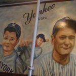 Yankee Legends mural