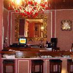 Petit hall d'accueil du restaurant