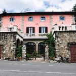 Villa Rosa main entrance