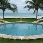 Vista de alberca a Playa