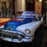 Car In Front Of Cuba Libre