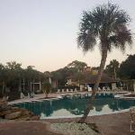 Huge pool.  Very nice.