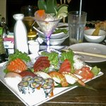 The Sushi - Sashimi Combo at Sake House