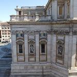 View from bedroom window - Basilica of Santa Maria