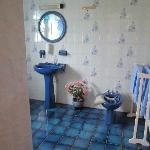 The Big Blue Bathroom