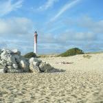 vue de la plage de la coubre