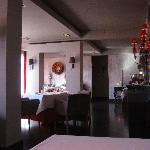 Luzine inside one the eating rooms