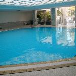 La piscine intérieure