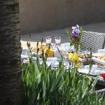 Petits déjeuners en terrasse