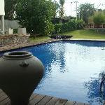 Pool side in sorowwa Hotel