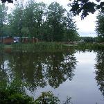 Pond next to campsite