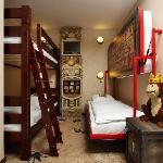 Adventure Room - Kids sleeping section