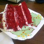 Homemade Raspberry Cake from the Whistlestop