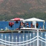Water ski pontoon
