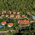 Montana Pine Resort bird's-eye view