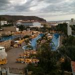 lovely view of atlantida pool