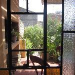 Garden Suite window