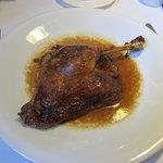 Roast goose leg, YUM!