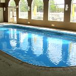 Indoor pool smelled like bleach..yuck!