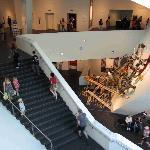 Main lobby stairwell - Hamilton Building