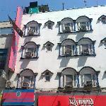 Frontal view of South Indian Hotel, New Delhi