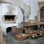 In the palace kitchens