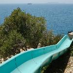slide - steeper and faster