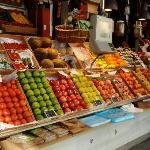 Früchte in der mercado san miguel