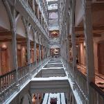 Hallways to rooms