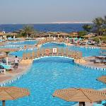 Sea club swiming pool, and sea view
