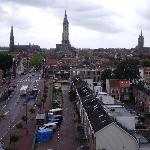 View of Delft from our room