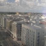 view toward shopping mall