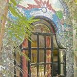 Marble mural