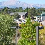 View of Pikes Peak from Hotel
